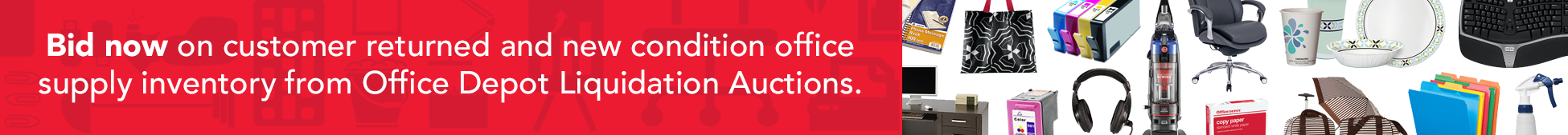 Office Depot Liquidation Auctions