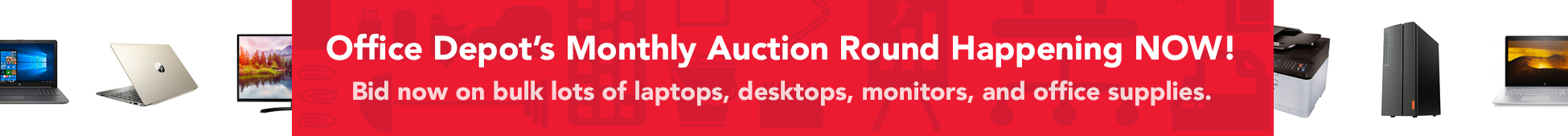 Office Depot Liquidation Auctions Monthly Event